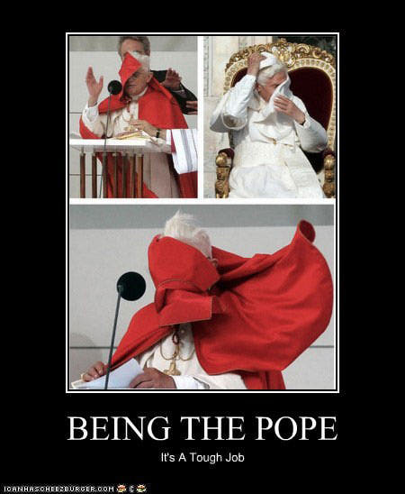 being-pope-tough-job