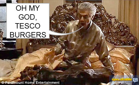 TESCO BURGERS