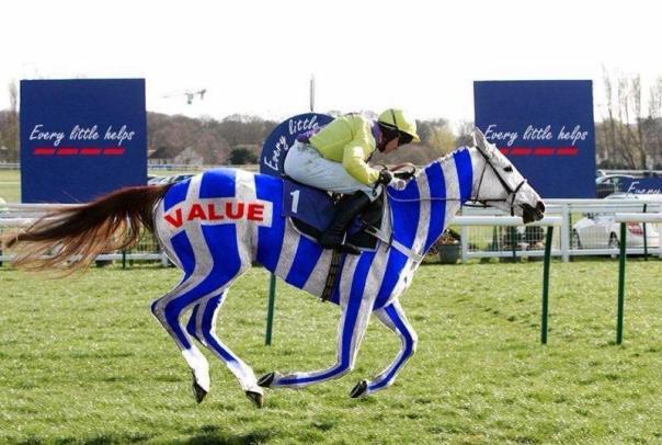 Tesco Value Horsemeant Every little helps