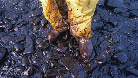 How does the Exxon Valdez oil spill compare?