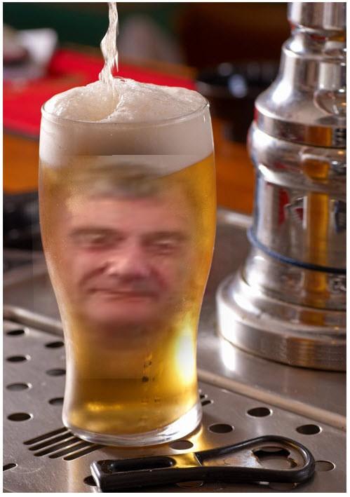 me in beer