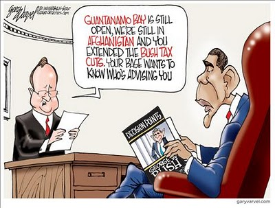 guantanamo bay, obama cartoons